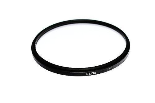 Filtro Uv Dhd Rosca 62mm P/ Lentes Canon Nikon Sony Pentax + Case