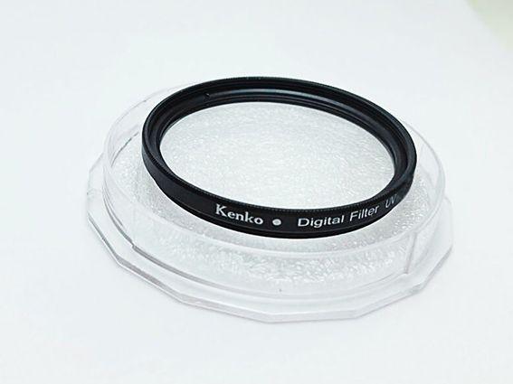 Filtro UV Kenko Rosca 49mm P/ Lentes Canon 50mm 1.8 STM ou Sony E 18-55mm F/3.5-5.6 Oss