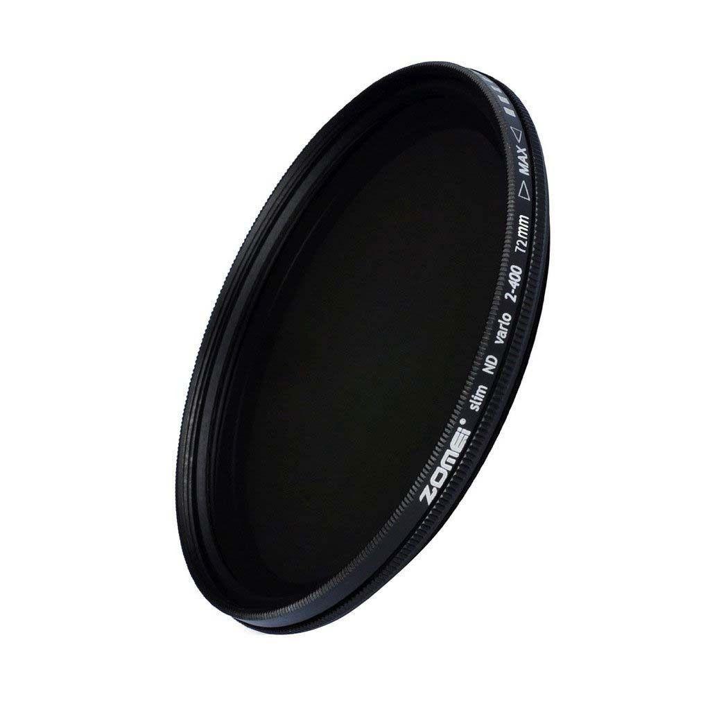 Kit 3 Peças Filtros Zomei Linha Profissional CPL Polarizador Circular  + UV Ultra Violeta + Nd Neutra Variável Nd2 - Nd400 Para Lentes Com Rosca Frontal de 82mm