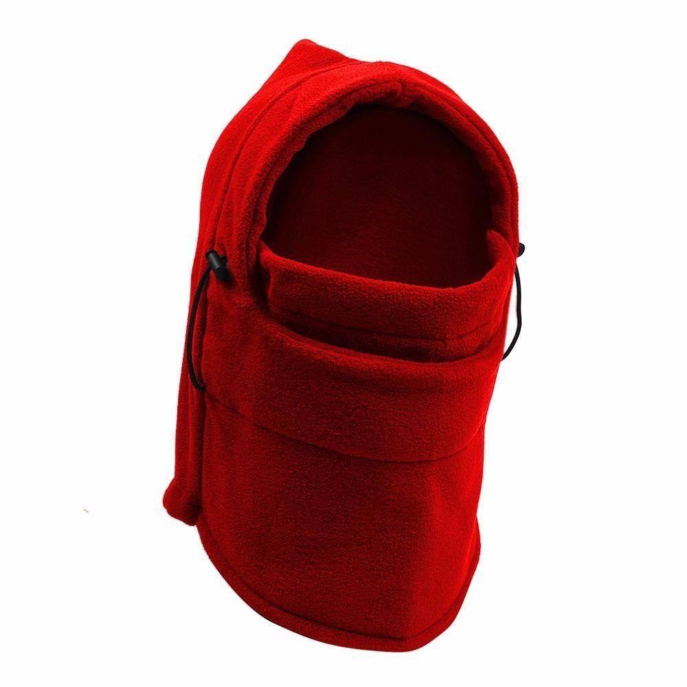 Kit Balaclava Soft Cachecol Gorro Touca + Gola cachecol Proteção Vento Neve Frio Várias cores - 6 unidades