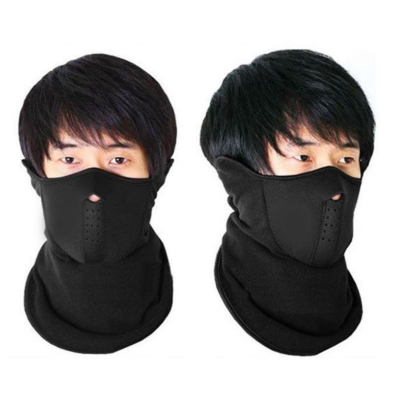 Kit Balaclava Soft + Touca Ninja Segunda Pele + Balaclava Neoprene Pescoceira Facial