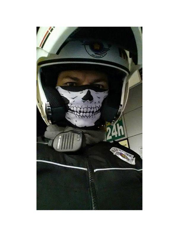 Kit Com 20x Bandana Balaclava Caveira esqueleto Gola Lenço Tatica Militar PM Moto