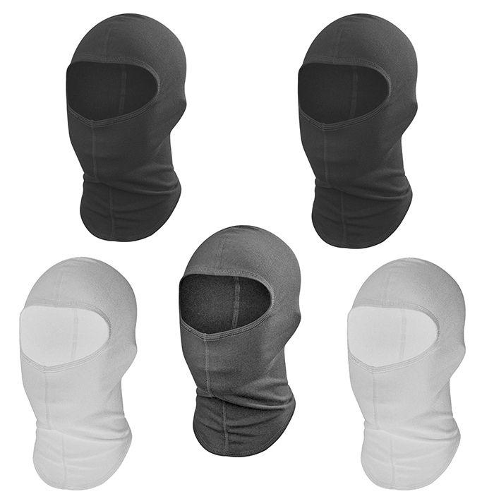 Kit Com 5x Touca Ninja Balaclava Mascara Segunda Pele Paintball Várias Cores