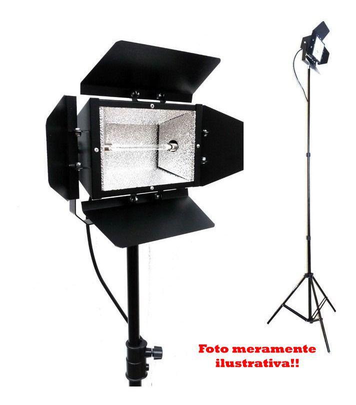Kit Com 5x Tripé Iluminação 2 Metros De Altura P/ Flash Luz E Estúdio
