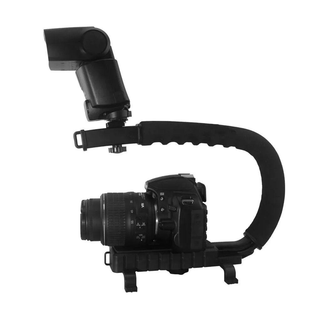 Kit Suporte Celular Selfie Estabilizador de Mão Gravação Youtuber Filmagem