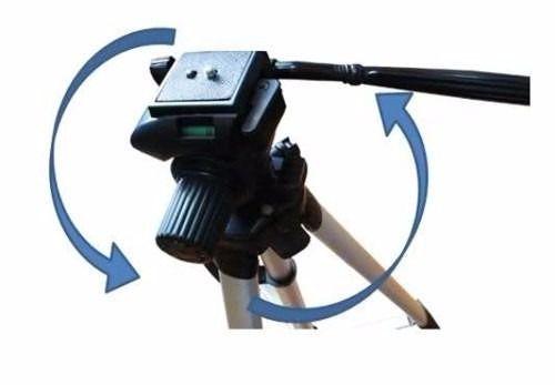Kit Tripé Universal Até 1,80m P Câmera Celular + Case + Suporte adaptador