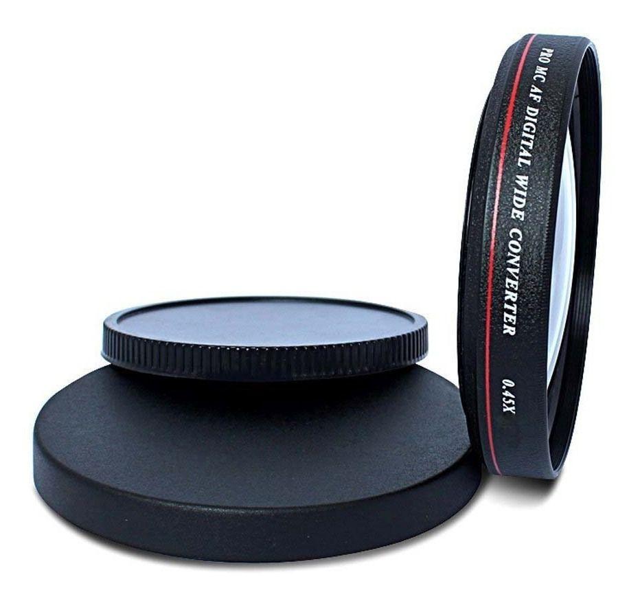 Lente Grande Angular Wide 0.45 Zomei Ultra Slim rosca 40,5mm