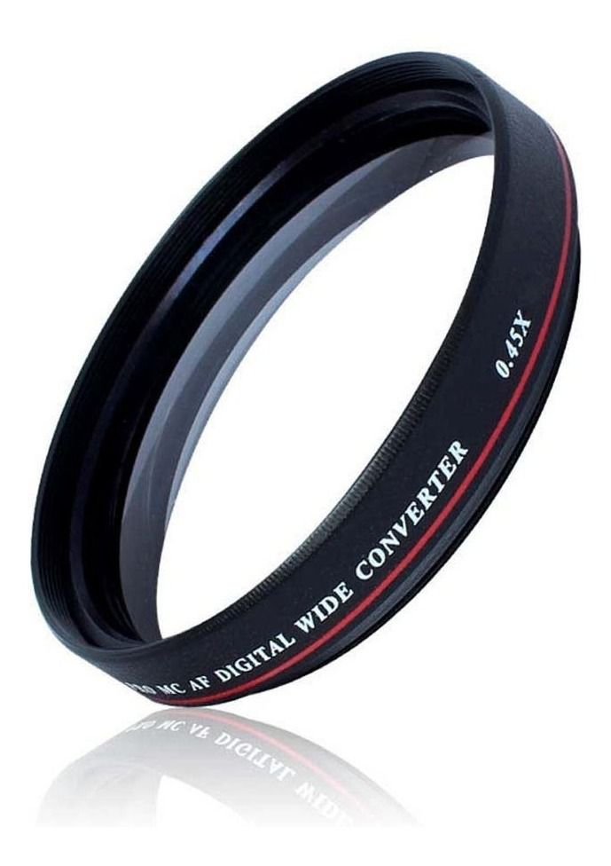 Lente Grande Angular Wide 0.45 Zomei Ultra Slim rosca 40,5mm
