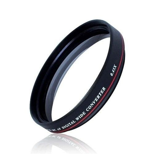 Lente Grande Angular Wide 0.45 Zomei Ultra Slim rosca 77mm
