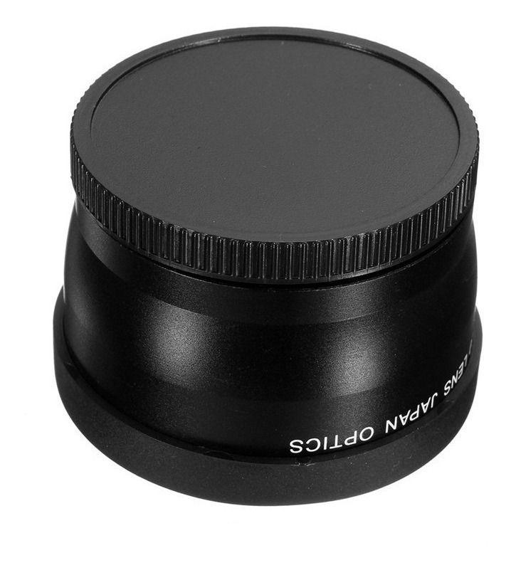 Lente Telephoto Digital 2x Câmeras Sony Canon Nikon De 52mm