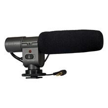 Microfone Externo Sg-108 Profissional Estereo Dslr Filmadora Canon Nikon Sony