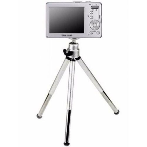 Mini Tripe Ajustável Portatil Metal Para Câmeras