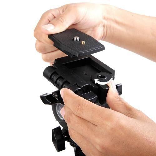 Monopé Weifeng Wf-3958m 146cm Com Pé De Galinha Para Câmeras