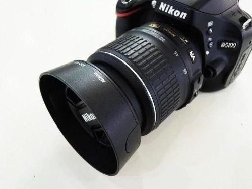 Parasol Hb-45 Lente Nikon Lente 18-55mm F/3.5-5.6 G Ed E Vr