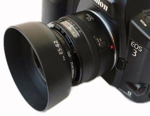 Parassol Es-62 Es62 Para Lentes Canon Ef 50mm F/1.8 II 52mm