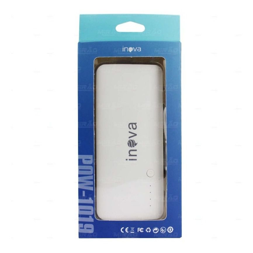 Power bank bateria externa portatil 10000mah original INOVA
