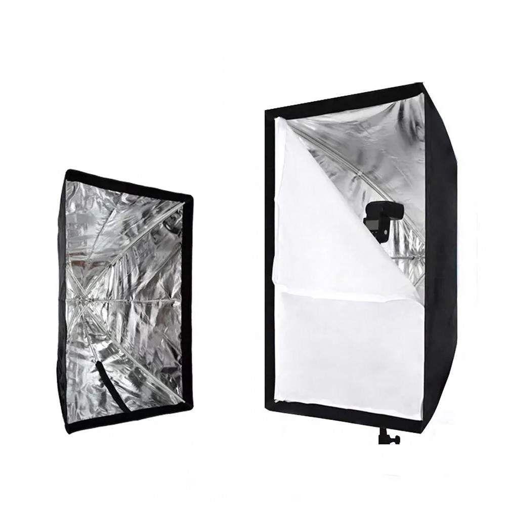 Softbox 60x90 Sombrinha Para Estúdio Fotográfico Com Bolsa