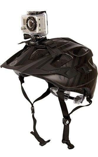 Suporte Go Pro Faixa Capacete Helmet Strap Gopro Hero 1 2 3