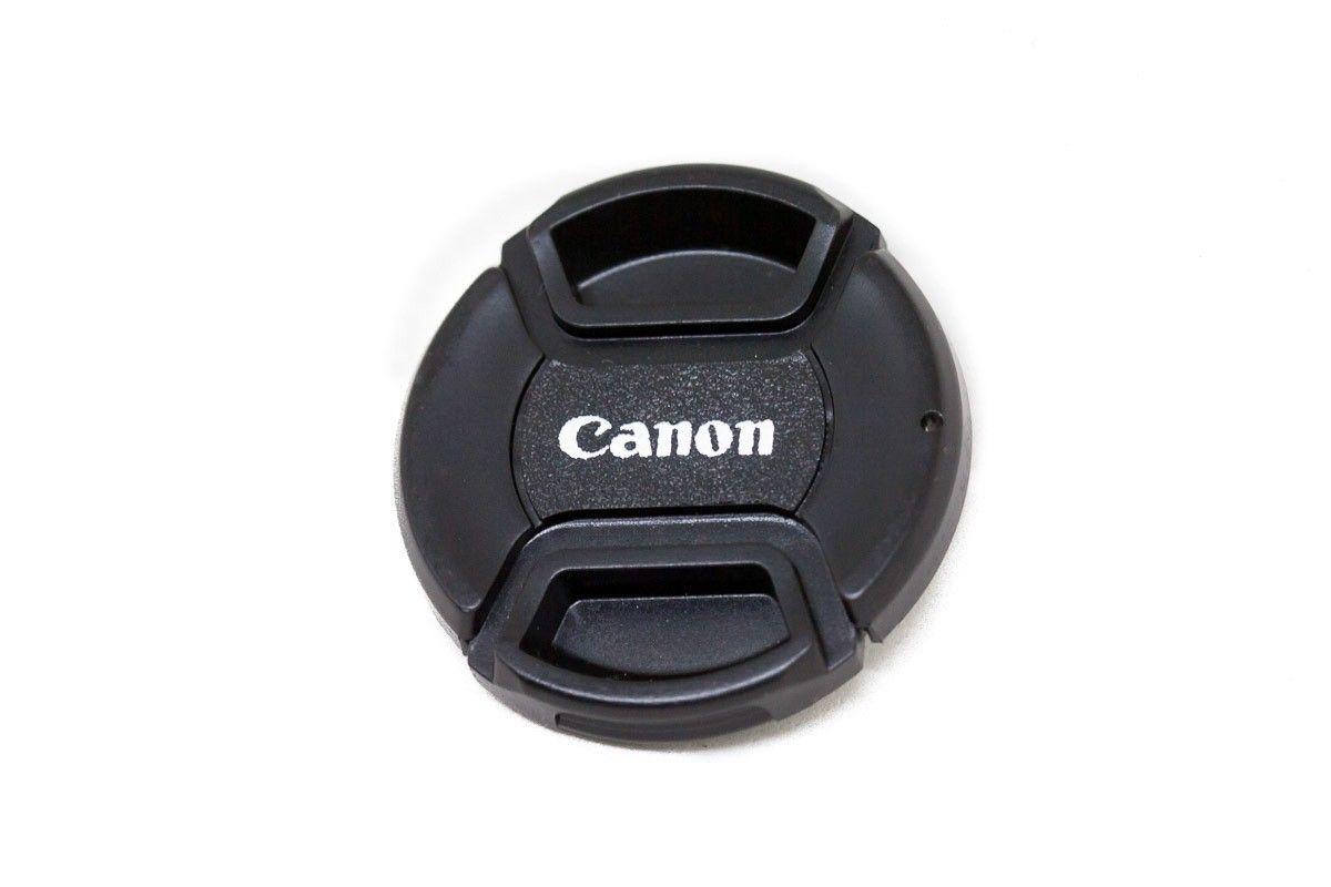 Tampa Para Lente Canon Rosca De 58mm Com Logo Canon