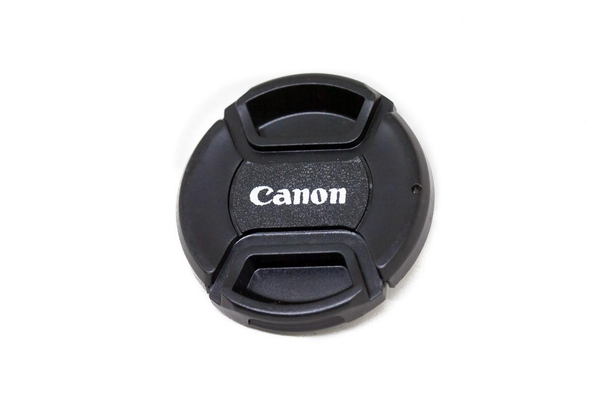Tampa Para Lente Canon De Ø52mm 52mm Símbolo logo