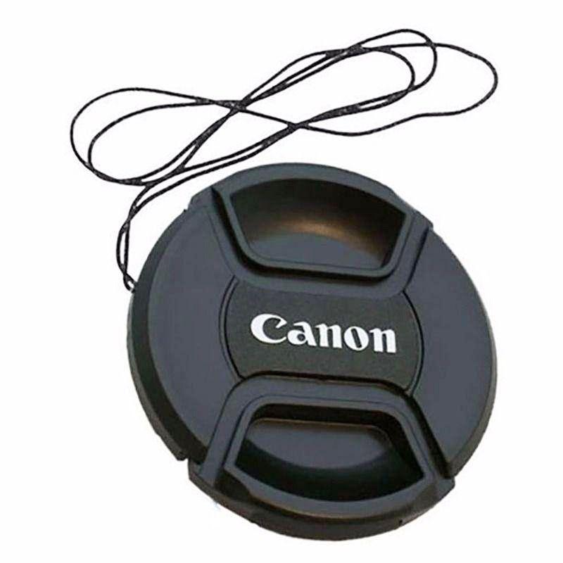Tampa Para Lente Canon Rosca De 62mm Com Símbolo Canon