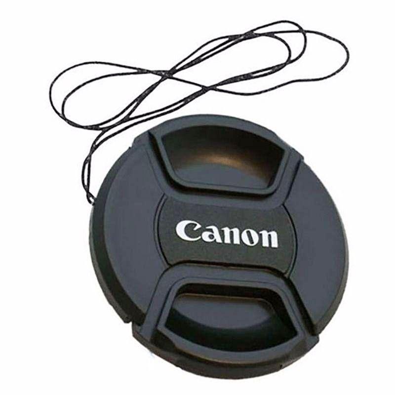 Tampa Para Lente Canon Rosca De 67mm Com Logo Canon