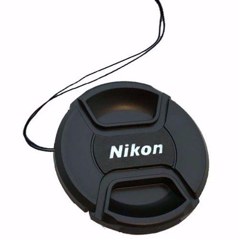 Tampa Para Lente Nikon Rosca De 72mm Com Logo Nikon