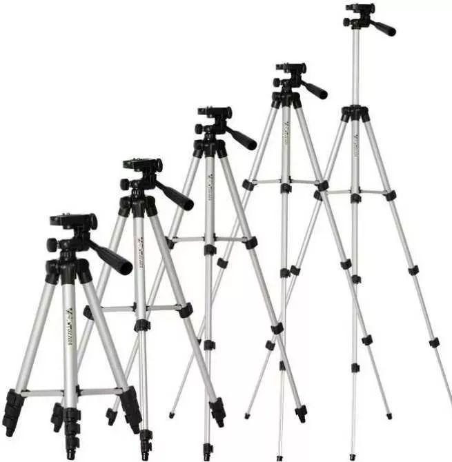 Kit Tripé Universal Até 1,02m P Câmera Celular + Case + Suporte adaptador
