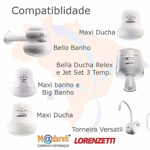 Resistência Maxi Ducha Big Banho Bella Ducha 220v 5500w Lorenzetti