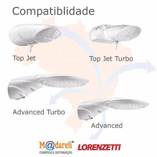 Resistência Advanced Top Jet Turbo 220v 7500w Lorenzetti