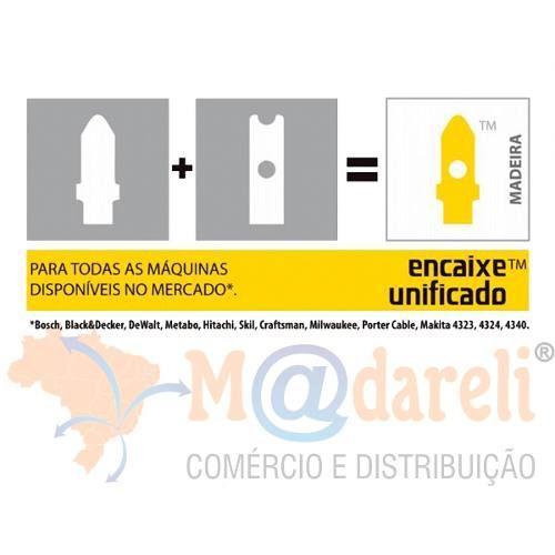 Serra Tico-tico Para Madeira (bu38-75mm) Com 5 Unid Starrett