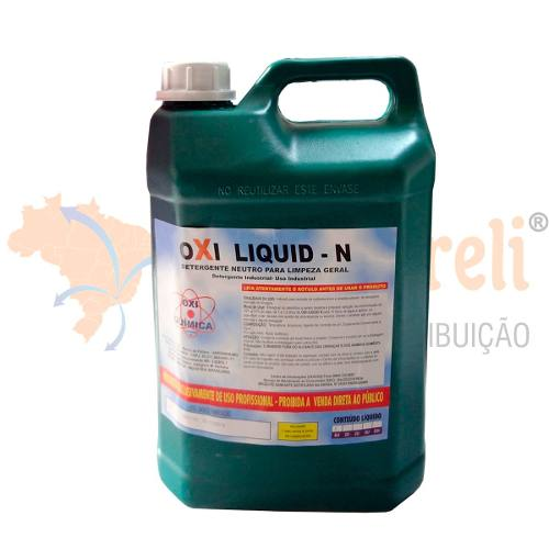 Detergente Neutro Concentrado 5L Uso Geral - Oxi Liquid N