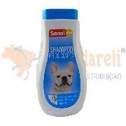 Shampoo Para Cães E Gatos Pelos Claros Sanol Dog - 500ml
