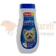 Shampoo Anti Pulgas Para Cães Sanol Dog - 500ml