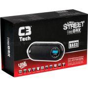 Caixa de Som Speaker 2.0 LCD/FM/MSD/BAT ST-180 - C3 Tech