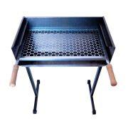 Churrasqueira em Aço Carbono 51x30x80cm - Alume