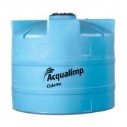 Cisterna Acqualimp 2800L + Kit para captação água pública 110V / 220V