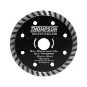Disco De Corte Diamantado Seco Turbo Mármore 110x20mm - Thompson