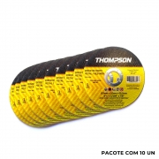 Disco de Corte Fino 115 x 1,0 x 22,2mm Aço e Inox Thompson
