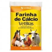Farinha de Cálcio Suplemento Mineral (VetBras) 1kg