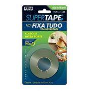 Fita Dupla Face Interna SuperTape Transparente Tekbond 12mmx2m