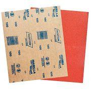 Lixa Massa Grão 100 A257 pacote com 50 Folhas - Norton