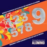 Número Residencial em Alumínio 5 cm