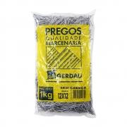 Prego 12x12 sem Cabeça 1kg - Gerdau