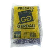 Prego 17x21 1kg Com Cabeça 2X11 - Gerdau