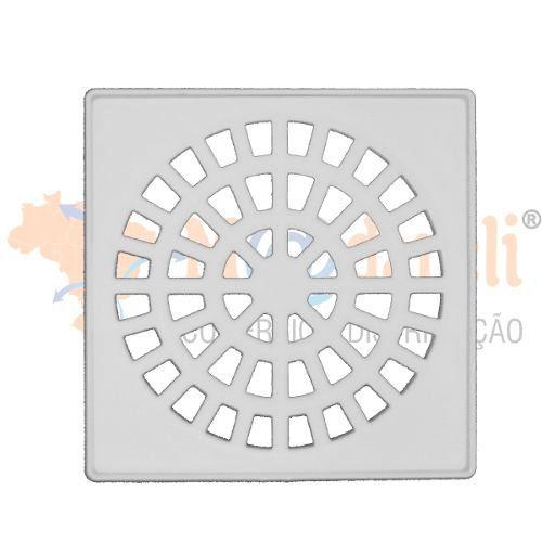 Caixa Sifonada Com Grelha Quadrada 150x150x50 - Krona