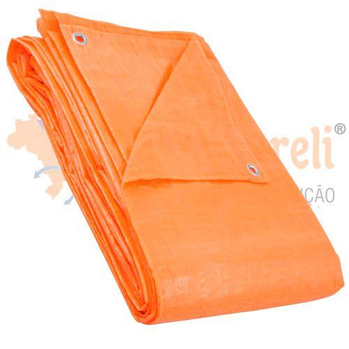 Lona Plástica Laranja 3m X 3m - Disma