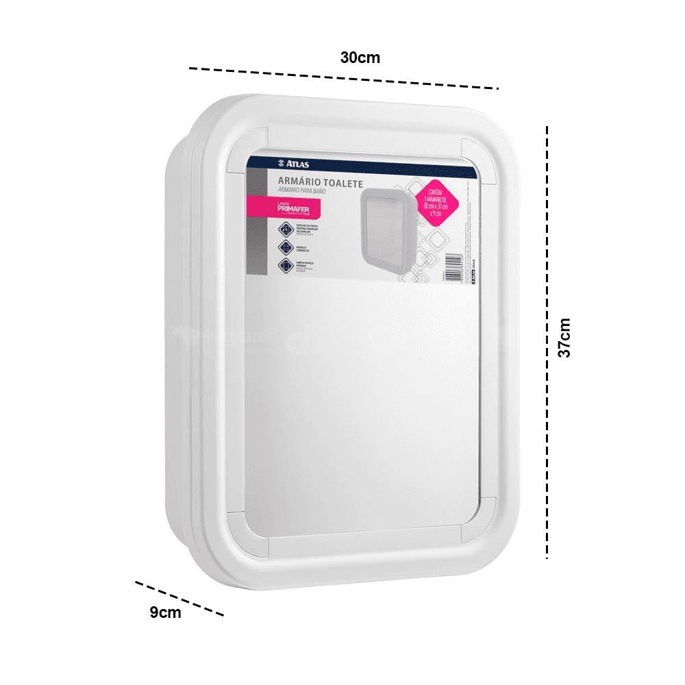 Armário de Embutir para Banheiro Primafer 37x30x9cm - Atlas