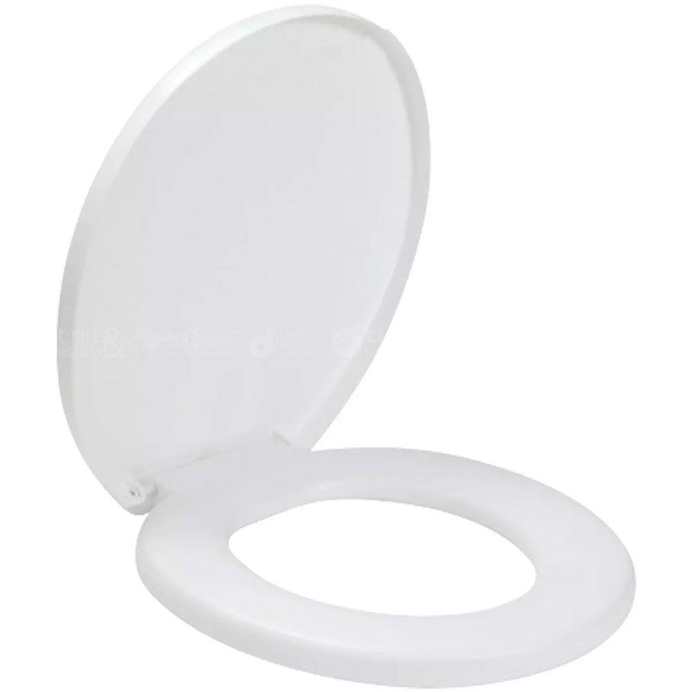 Assento Sanitário Oval Modelo Confort Almofadado - Amanco
