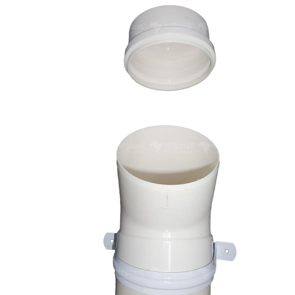 Bebedouro para Cães e Gatos em PVC 65cm 4 litros com Filtro